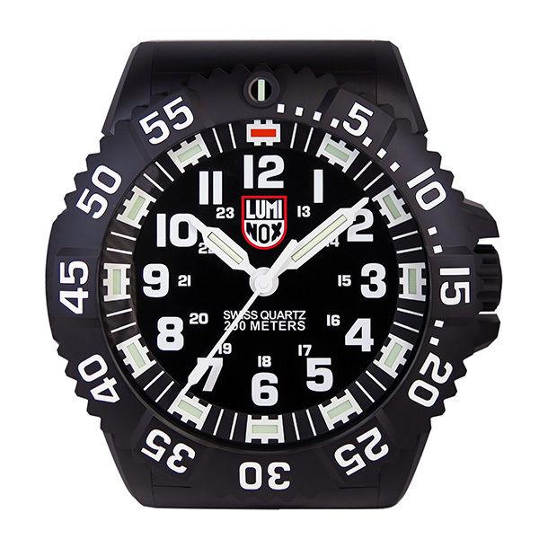 ルミノックス LUMINOX 腕時計風 LED発光 掛け時計 BIG.40 WALL-CLOCK-BIG40 ブラック
