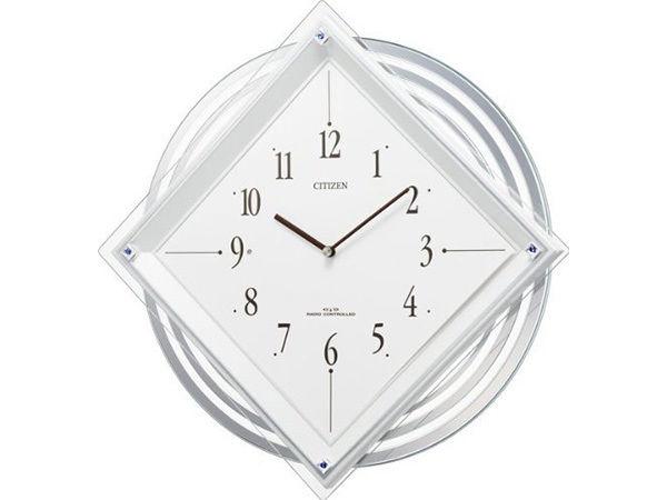 シチズン パルミューズスター 電波掛け時計 4MX403-003