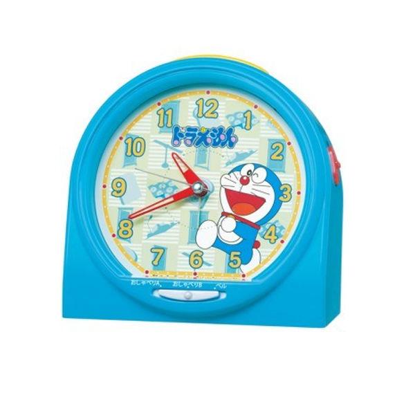 セイコー SEIKO クロック おしゃべり目覚まし時計 ドラエモン CQ137L ブルー