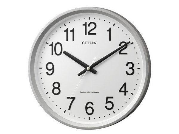 シチズン CITIZEN 電波掛け時計 サークルポート 4MYA24-019