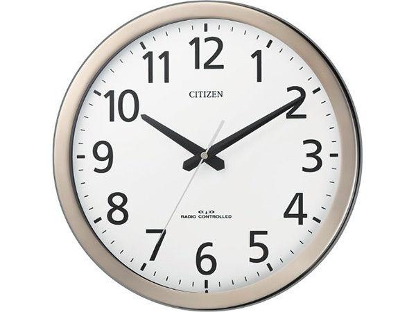 シチズン パルウェーブM17 オフィスタイプ掛け時計 4MYA17-019
