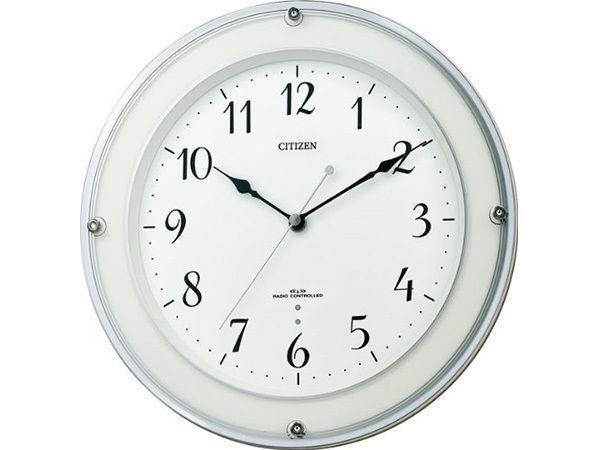 シチズン スタンダード ミレディラウンド シンプル掛け時計 8MY450-003