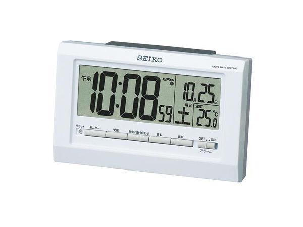 セイコー SEIKO 電波時計 目覚まし時計 SQ755W