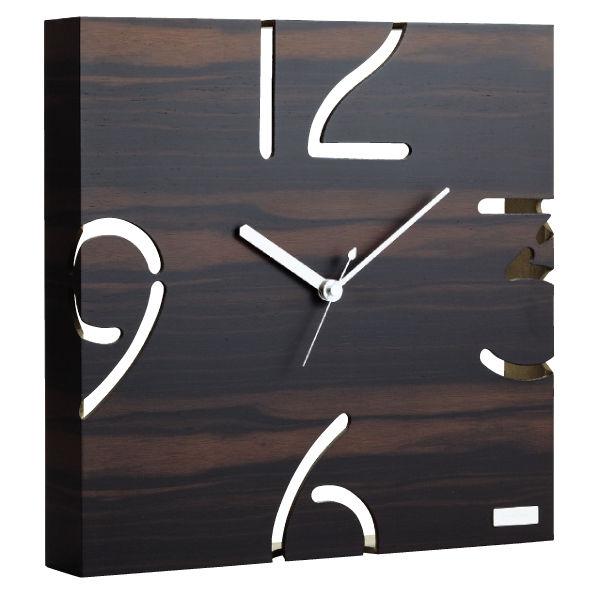 ヤマト工芸 掛け時計 YK09-104-BL 黒檀