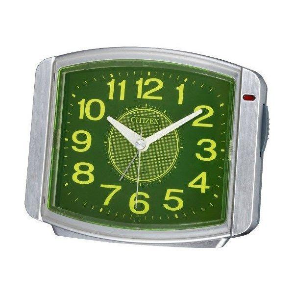シチズン サイレントミグ644 夜間自動点灯 めざまし時計 8RE644-019