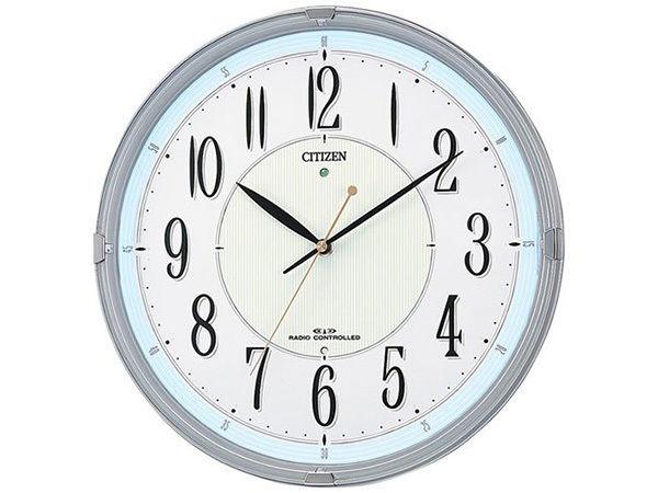 シチズン スタンダード ネムリーナM416 シンプル掛け時計 8MY416-019