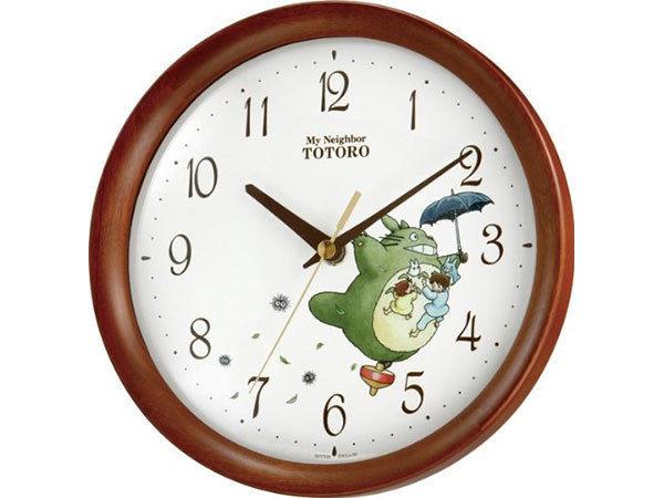 となりのトトロ 掛け時計 トトロM27 8MGA27RH06