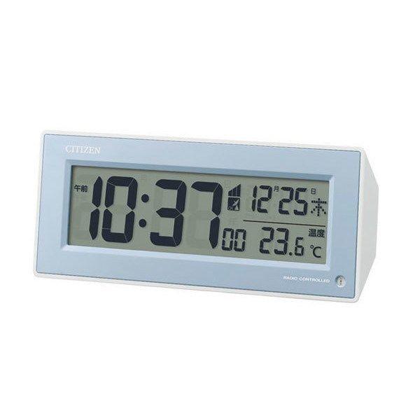 シチズン CITIZEN 電波目覚まし時計 パルデジットピュアR153 8RZ153-004