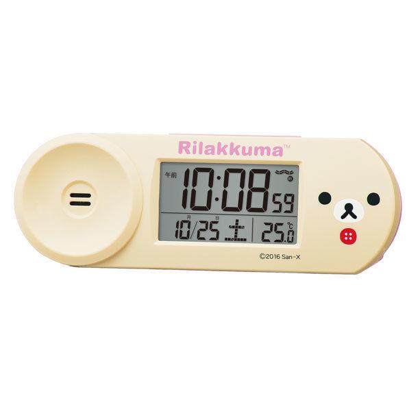 セイコー SEIKO コリラックマ ユニセックス 目覚まし時計 CQ147A クリーム
