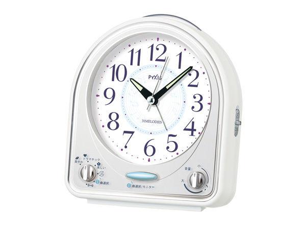 セイコー SEIKO ピクシス 目覚まし時計 NR435W