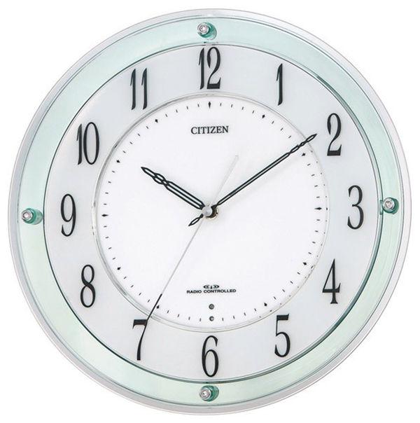 シチズン CITIZEN ミレディM791 クオーツ 掛け時計 4MY791SR05 ホワイト