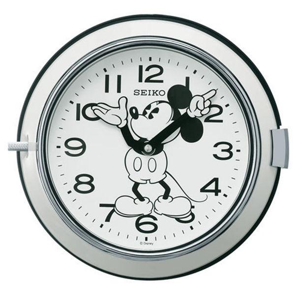 セイコー SEIKO 大人ディズニー 掛け時計 FS504W ホワイト
