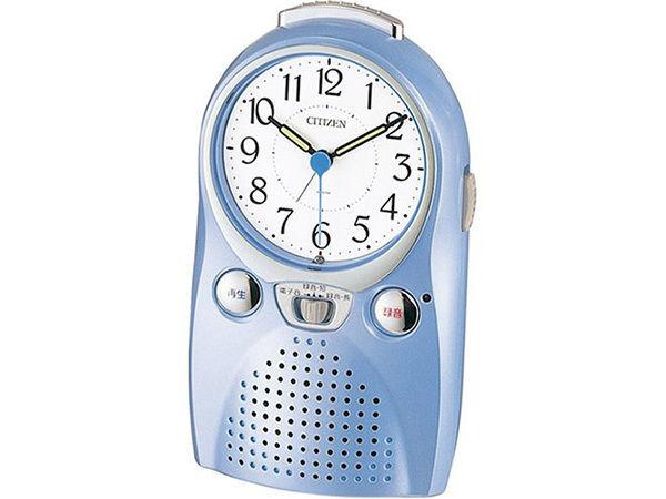 シチズン 伝言くんルージュW スタンダード めざまし時計 4SE521-004