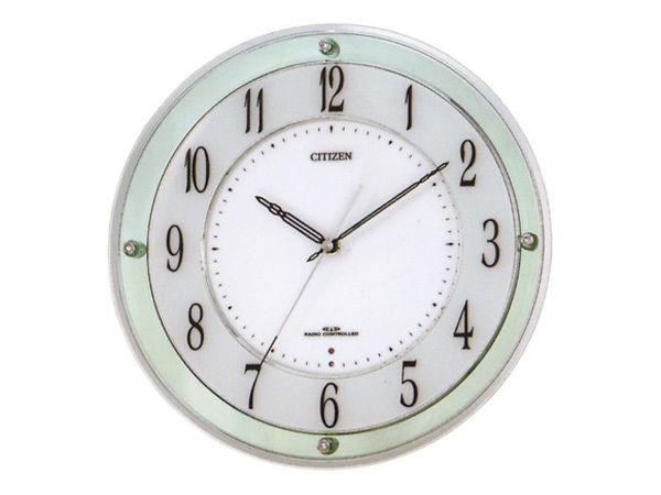 シチズン スタンダード ミレディM791 シンプル掛け時計 4MY791-005