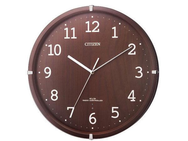 シチズン CITIZEN 電波掛け時計 シンプルモードアークF 8MYA22-006