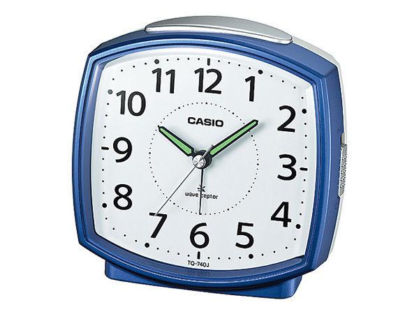 カシオ CASIO デスクトップクロック 電波 目覚まし時計 TQ-740J-2JF 国内正規