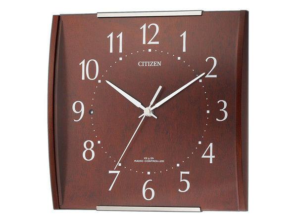シチズン シンプルモード シンプル掛け時計 8MYA08-006