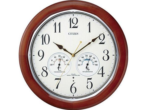 シチズン スタンダード ネムリーナインフォートW シンプル掛け時計 8MY464-006