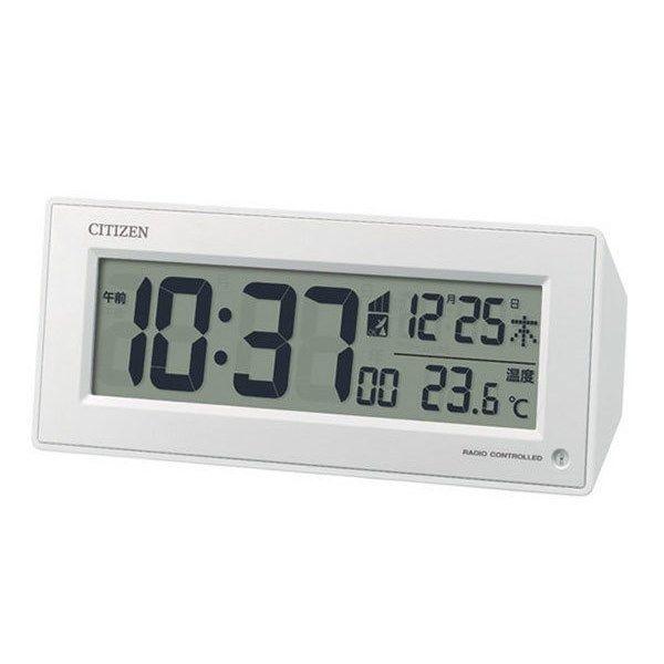 シチズン CITIZEN 電波目覚まし時計 パルデジットピュアR153 8RZ153-003