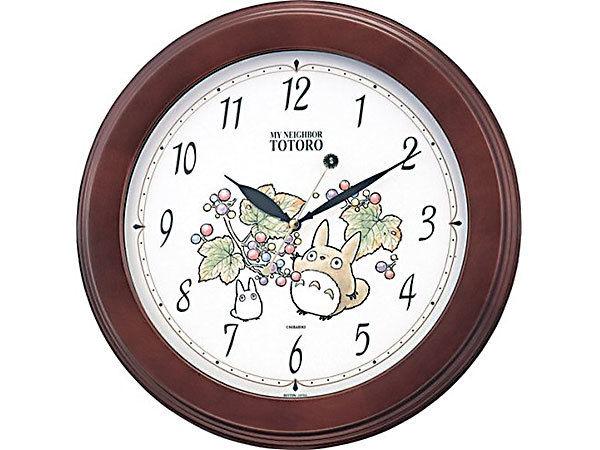 となりのトトロ 掛け時計 トトロM690N 4KG690MA06