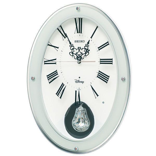 セイコー SEIKO ディズニー ユニセックス 掛け時計 FS508W ホワイト