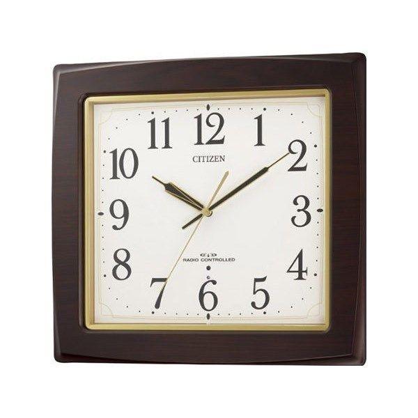 シチズン スタンダード ネムリーナアスカ シンプル掛け時計 8MY455-006