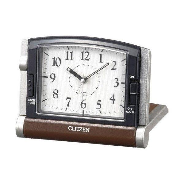 シチズン アブロード963 旅行携帯用 めざまし時計 4GE963-006