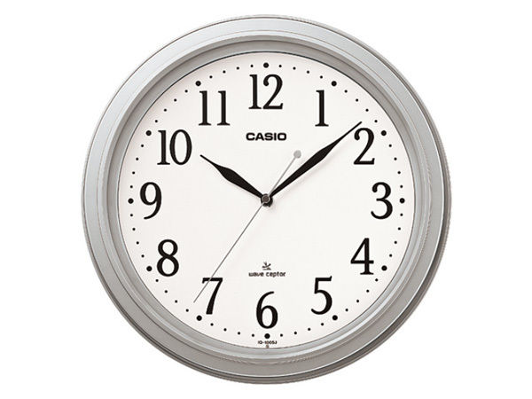 カシオ CASIO インテリアクロック 電波 壁掛け時計 IQ-1005J-8JF 国内正規