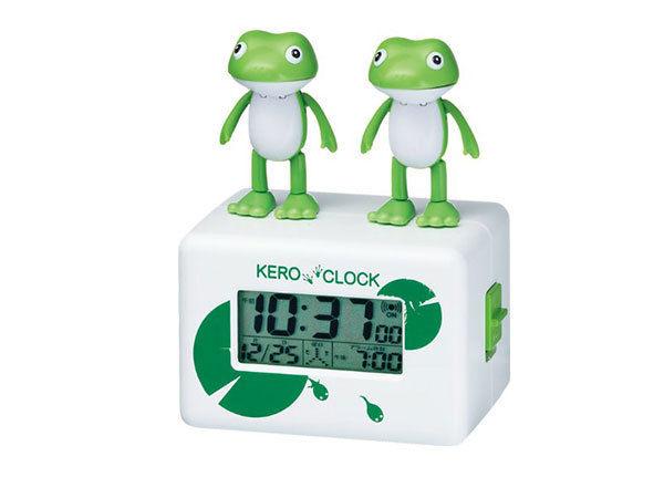 キャラクター めざまし時計 ケロクロック2 8RDA46RH03