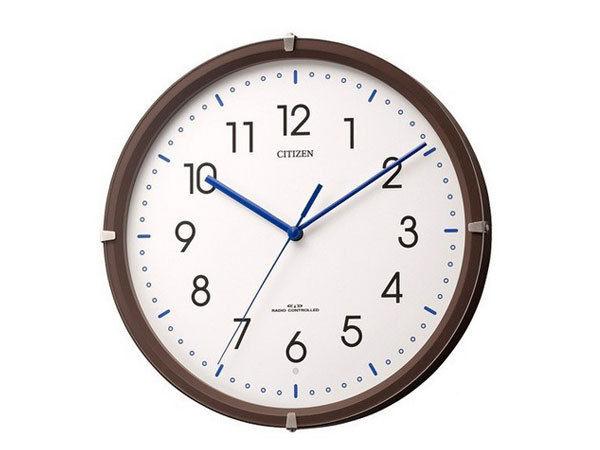 シチズン CITIZEN 電波掛け時計 シンプルモードミニ 4MYA23-006