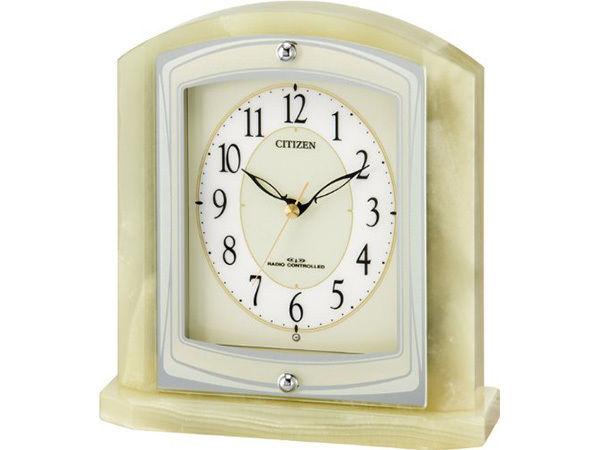 シチズン パルラフィーネR400 スタンダード電波置時計 8RY400-005