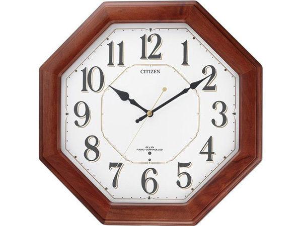 シチズン スタンダード ネムリーナハピネス シンプル掛け時計 8MY472-006