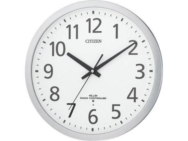 シチズン オフィスタイプ スペイシーM462 オフィスタイプ掛け時計 8MY462-019