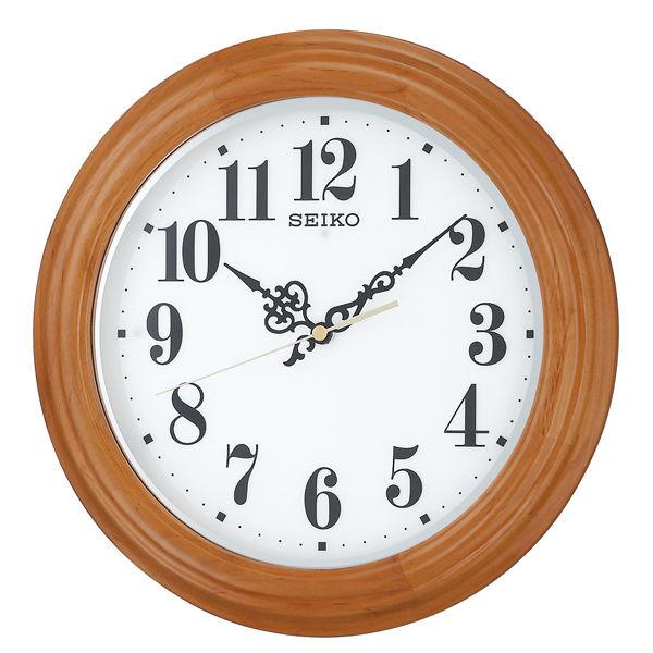 セイコー SEIKO 夜でも見える 掛け時計 KX228A ホワイト
