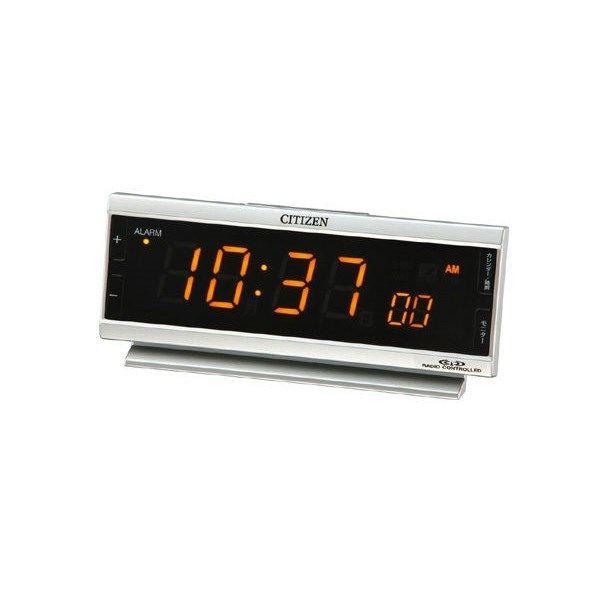 シチズン パルデジットピュア AC電源式デジタル時計 8RZ099-019