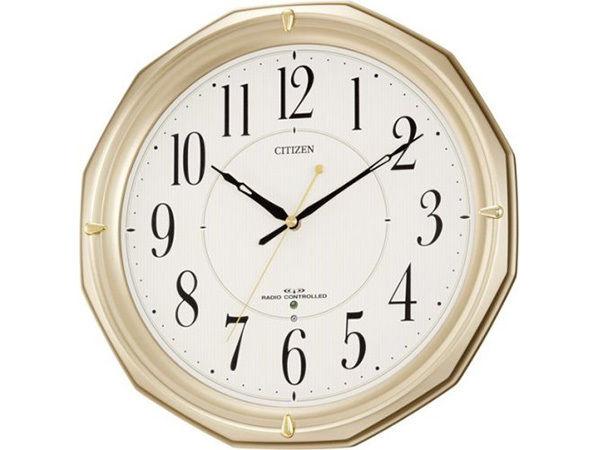 シチズン スタンダード ネムリーナMA08 シンプル掛け時計 4MYA08-018
