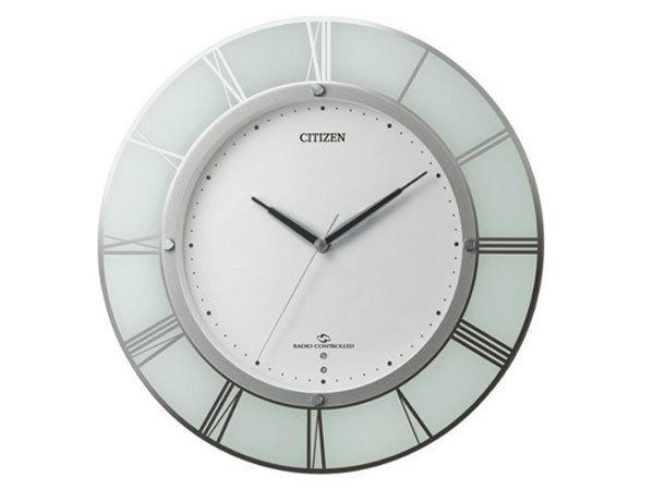シチズン CITIZEN 電波掛け時計 スリーウェイブM830 4MY830-003