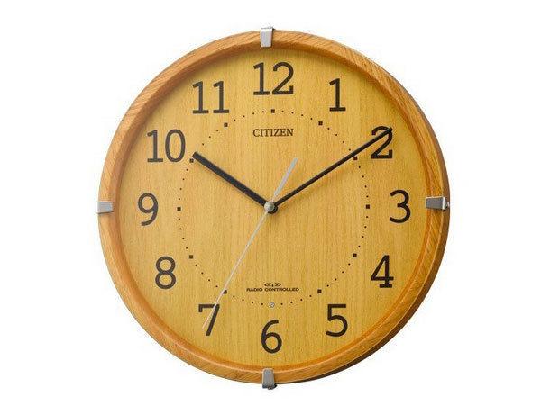シチズン CITIZEN 電波掛け時計 シンプルモードアークミニ 4MYA27-007