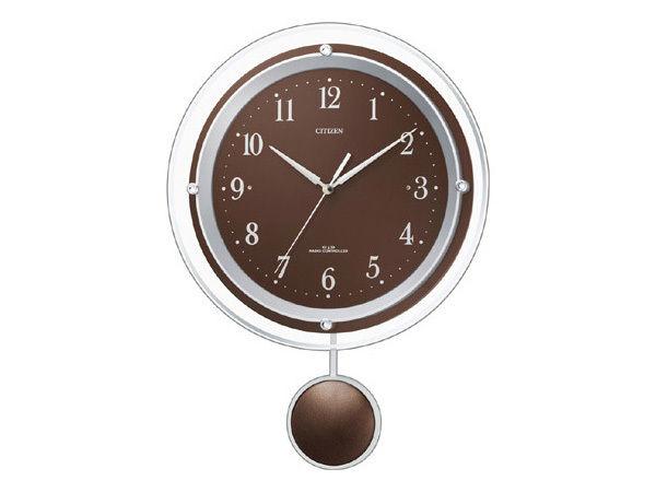 シチズン アミュージングクロック パルミューズスイング 電波掛け時計 8MX401-006