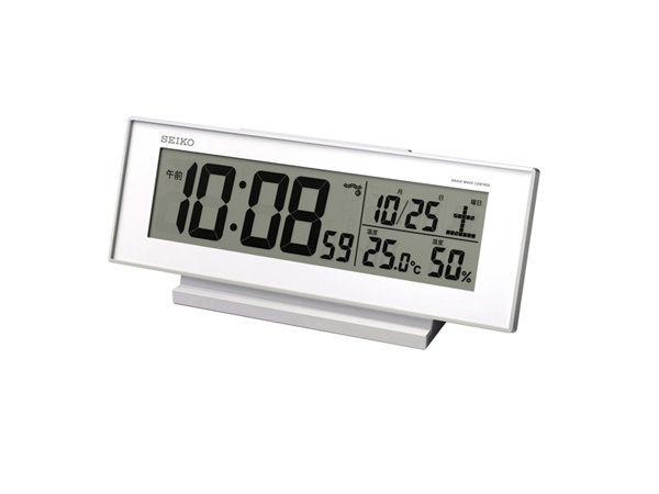 セイコー SEIKO 電波時計 目覚まし時計 SQ762W