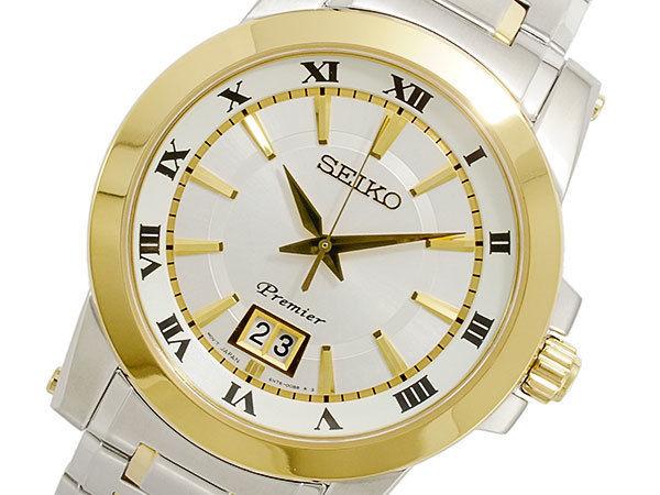 セイコー SEIKO Premier クオーツ メンズ 腕時計 SUR016P1