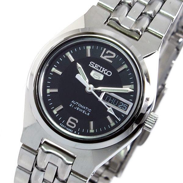 セイコー SEIKO セイコーファイブ 自動巻き レディース 腕時計 SYMK33K1 ブラック