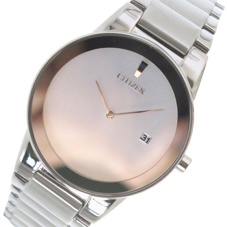 シチズン CITIZEN エコ・ドライブ クオーツ メンズ 腕時計 AU1060-51A シルバー