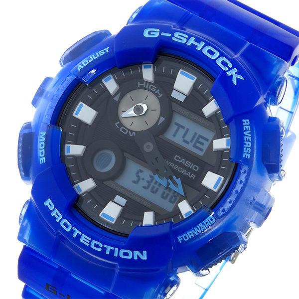 カシオ CASIO Gショック G-SHOCK ジーライド クオーツ メンズ 腕時計 GAX-100MSA-2AJF ブルー 国内正規