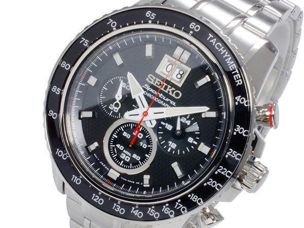 セイコー SEIKO スポーチュラ SPORTURA クオーツ メンズ クロノグラフ 腕時計 SPC137P1