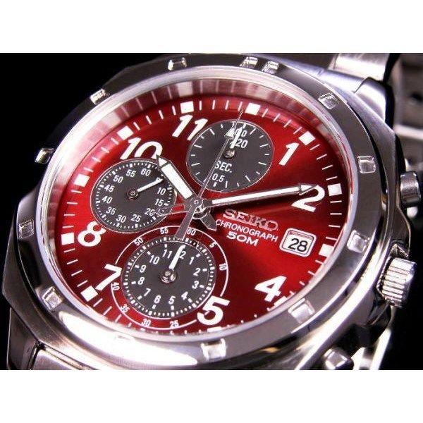セイコー SEIKO クロノグラフ メンズ 腕時計 SND495