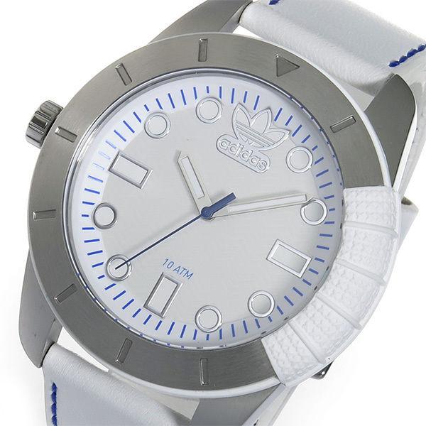 アディダス ADIDAS スーパースター クオーツ メンズ 腕時計 ADH3036 ホワイト
