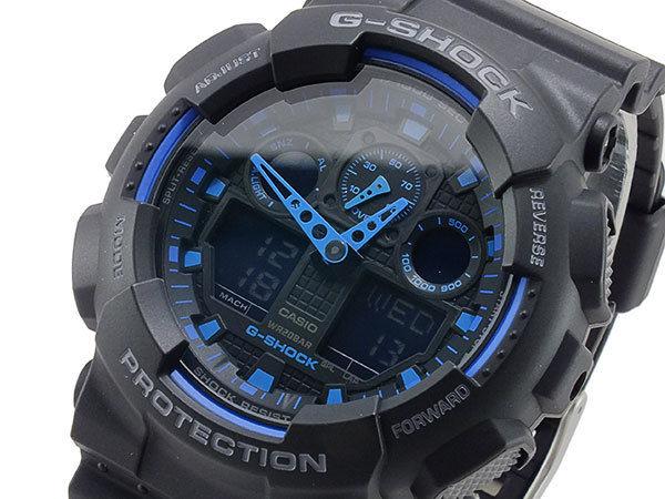 カシオ CASIO Gショック G-SHOCK アナデジ メンズ 腕時計 GA-100-1A2