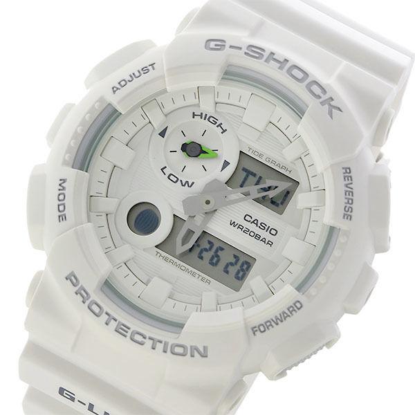 カシオ CASIO Gショック G-SHOCK Gライド G-LIDE クオーツ メンズ 腕時計 GAX-100A-7A ホワイト