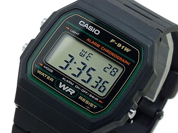 カシオ CASIO スタンダード デジタルクオーツ メンズ 腕時計 F91W-3